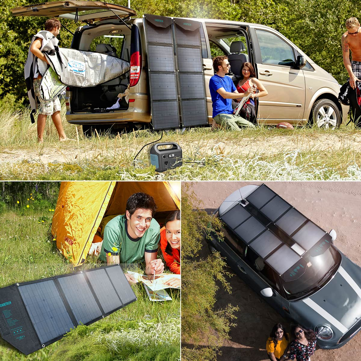 Choetech Portable Solar Panel giveaway: Don't be without power on your next outdoor adventure