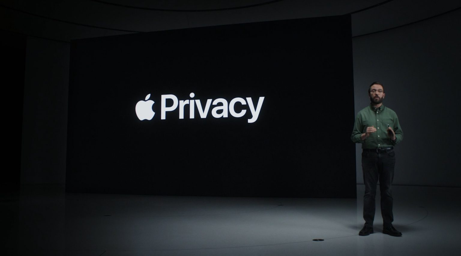 Apple Privacy Slide from WWDC 2021