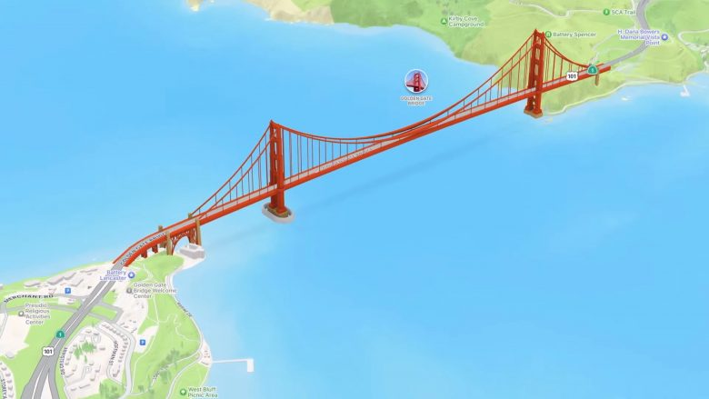 Certain launch cities will get highly detailed views in the iOS 15's updated Apple Maps
