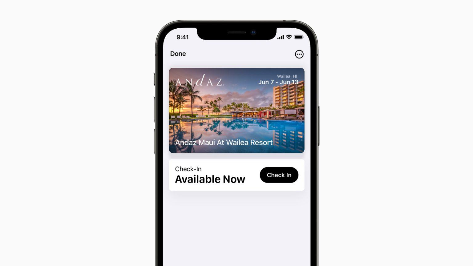 Wallet app in iOS 15