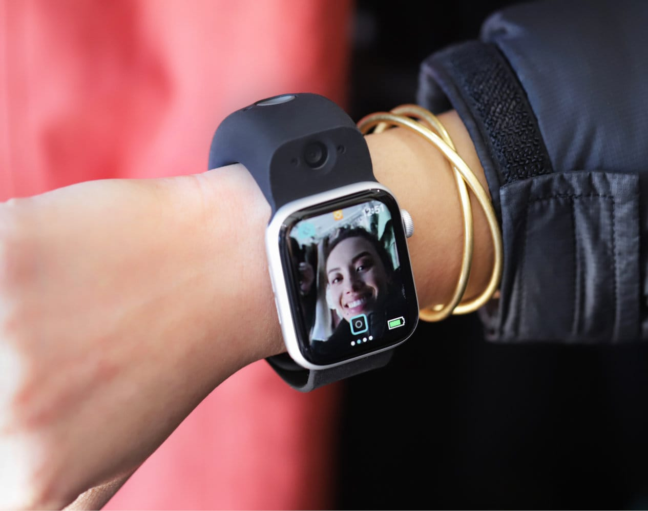 Wristcam gives your Apple Watch dual cameras and live video messaging.