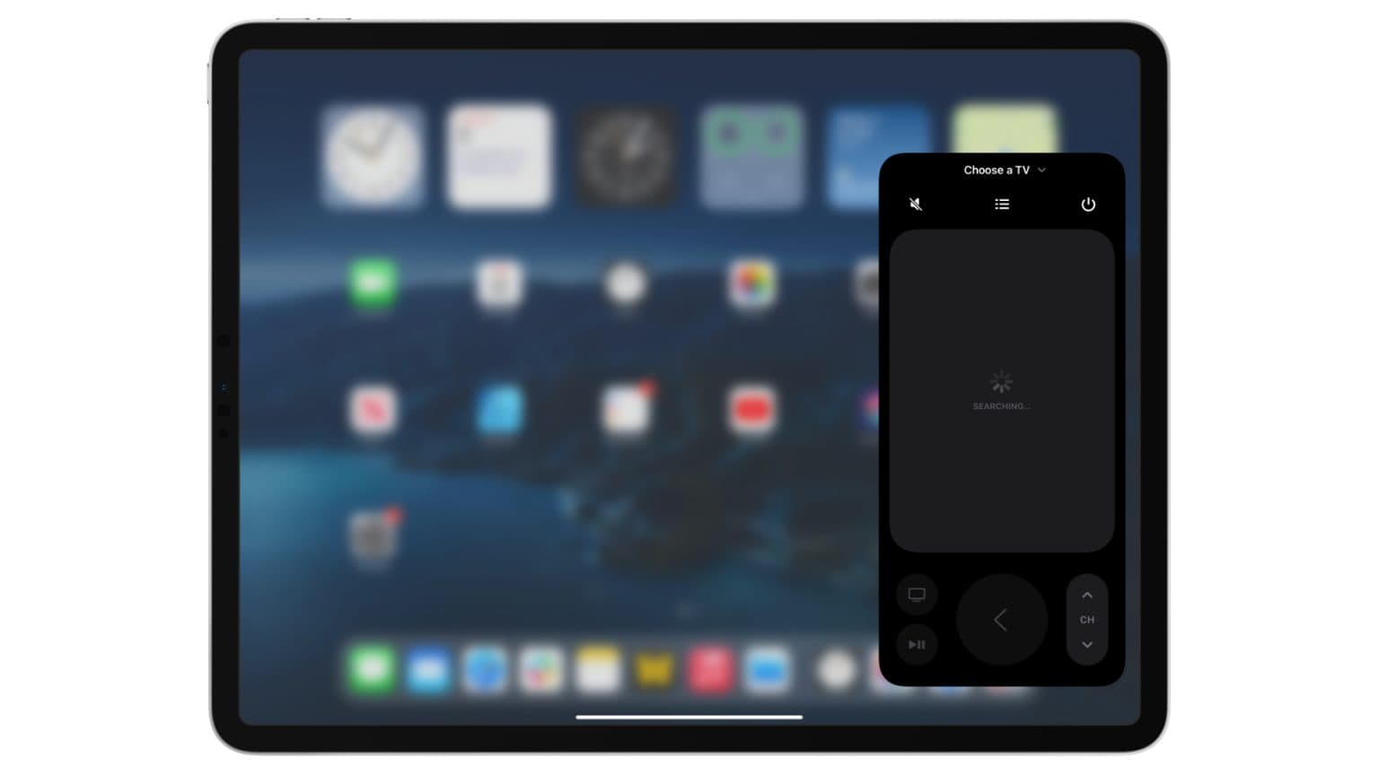 New Apple TV Remote in iOS 15