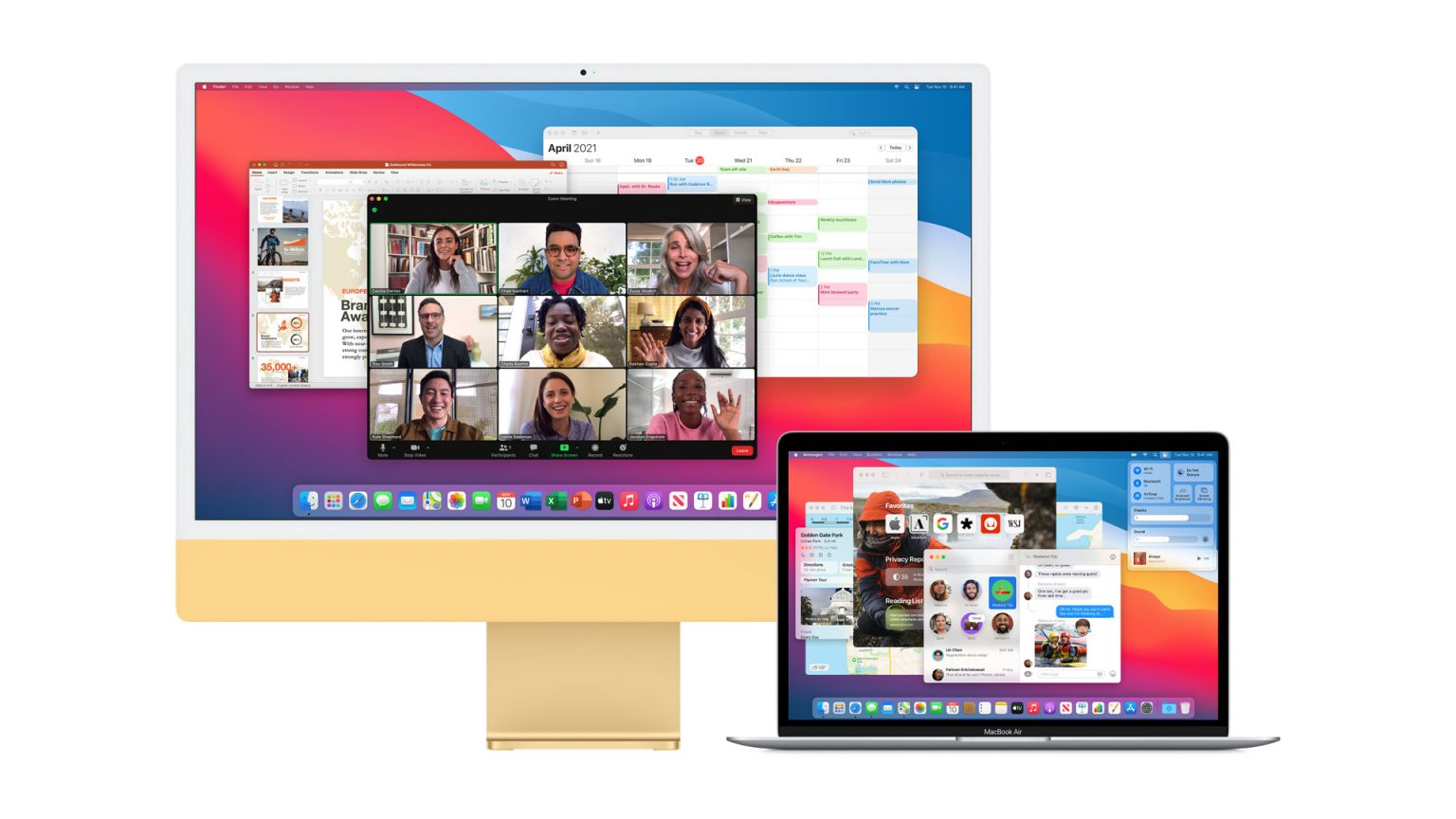 macOS Monterey turns a second Mac into an external display