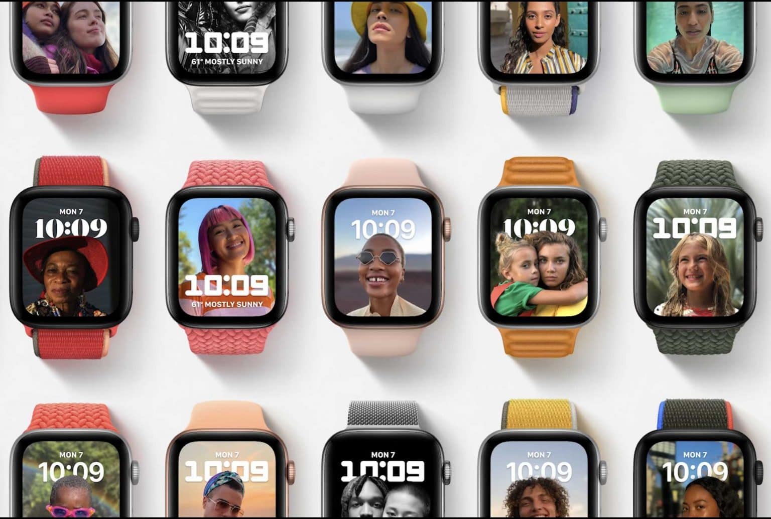 watchOS introduces a new Portrait mode watch face with depth effect