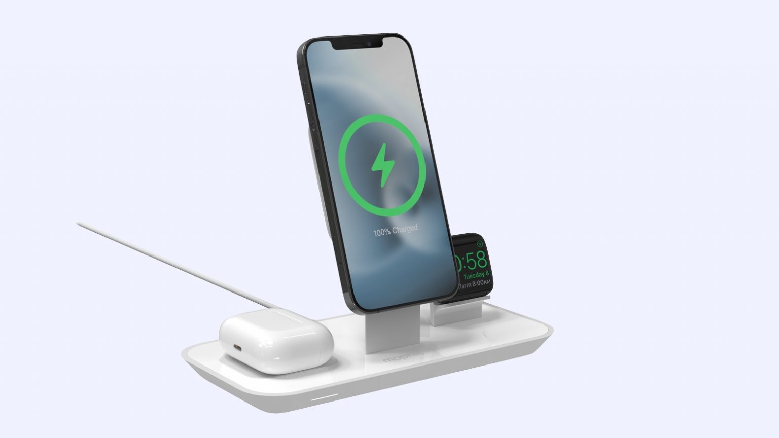 Apple loves Mophie's new 3-in-1 MagSafe stand