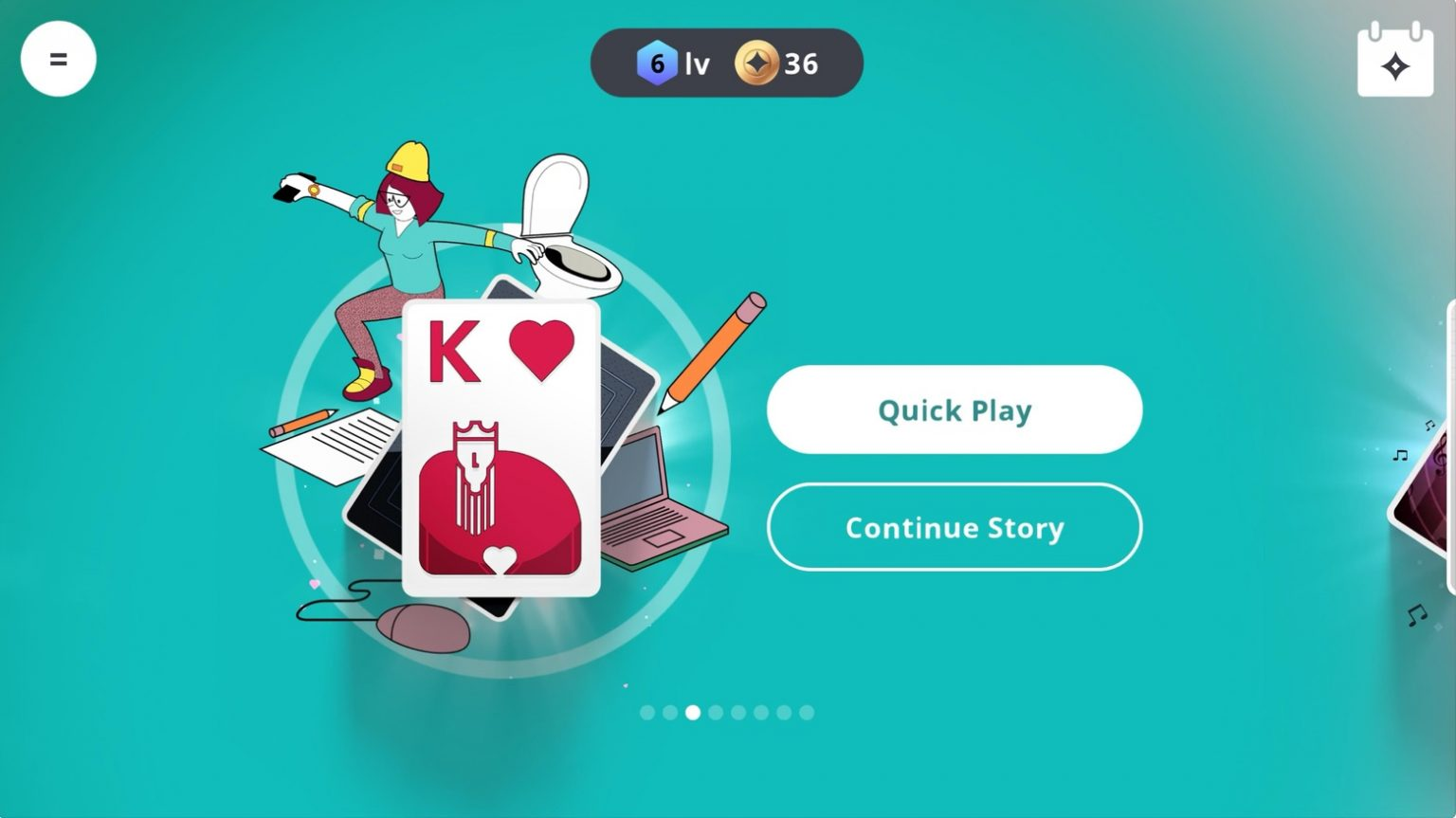 'Solitaire Stories' debuted Friday on Apple Arcade