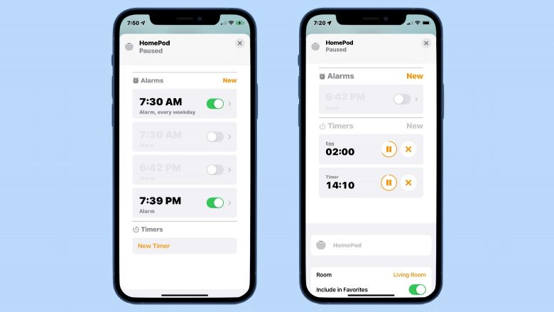 How to save time by editing alarms and timers on HomePod without Siri
