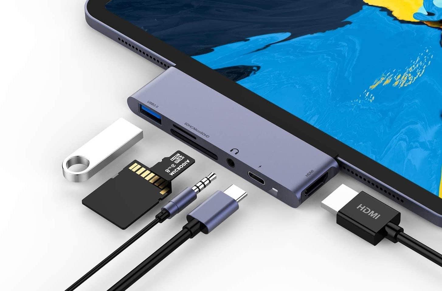 Rayrow USB-C hub for iPad Pro