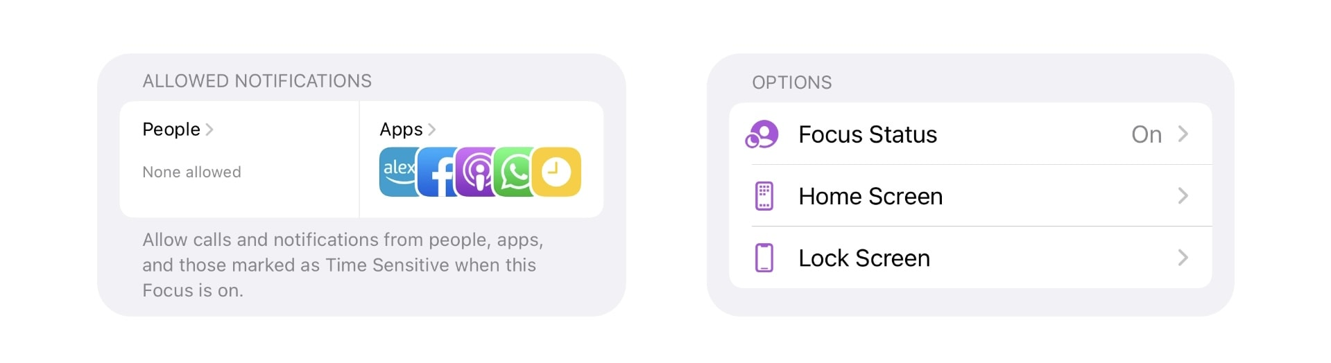 Create and customize Focus modes in iOS 15