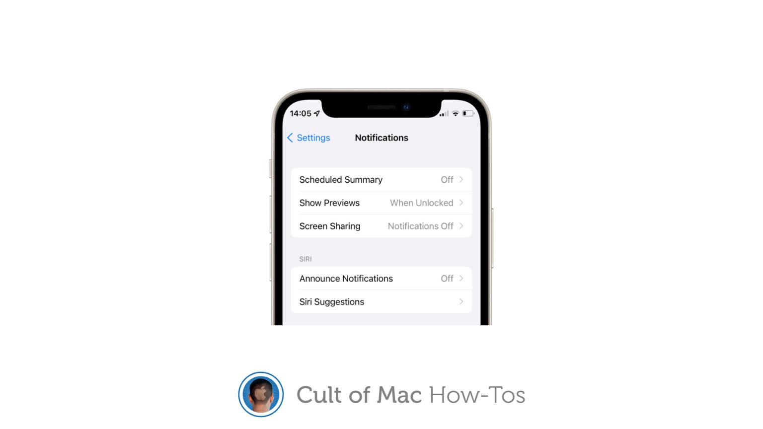 Disable notifications while screen sharing