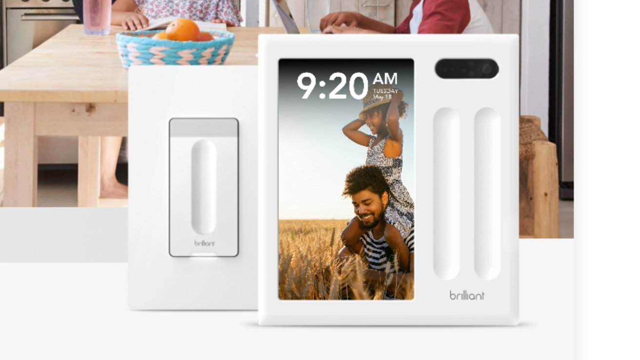 Brilliant's smart plug and wall switch now work with HomeKit.