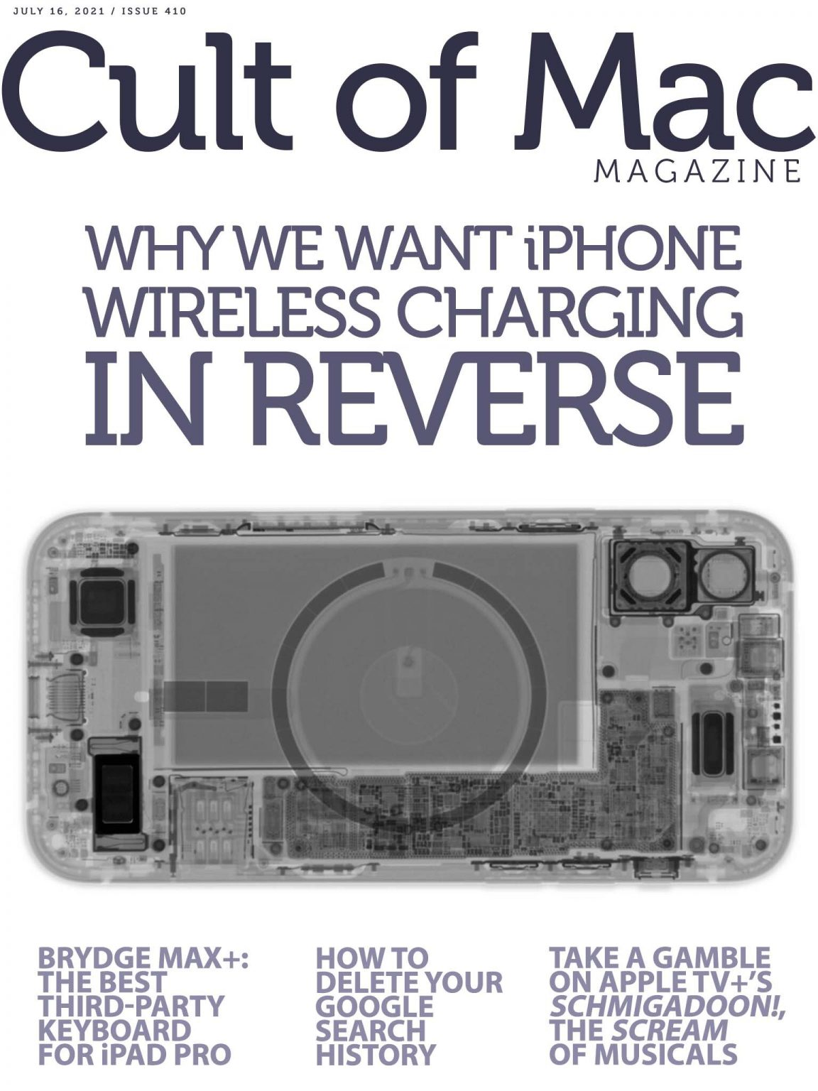 iPhone reverse wireless charging. We want more.