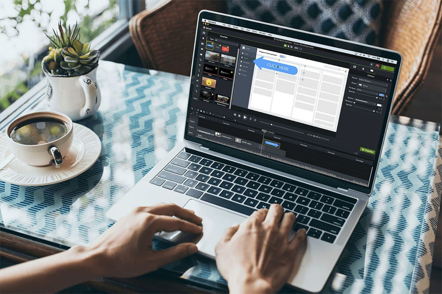 Create professional videos with this amazing editor