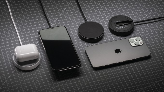 cultofmac.com - Use the Biscuit ceramic wireless charger forever? So they say.
