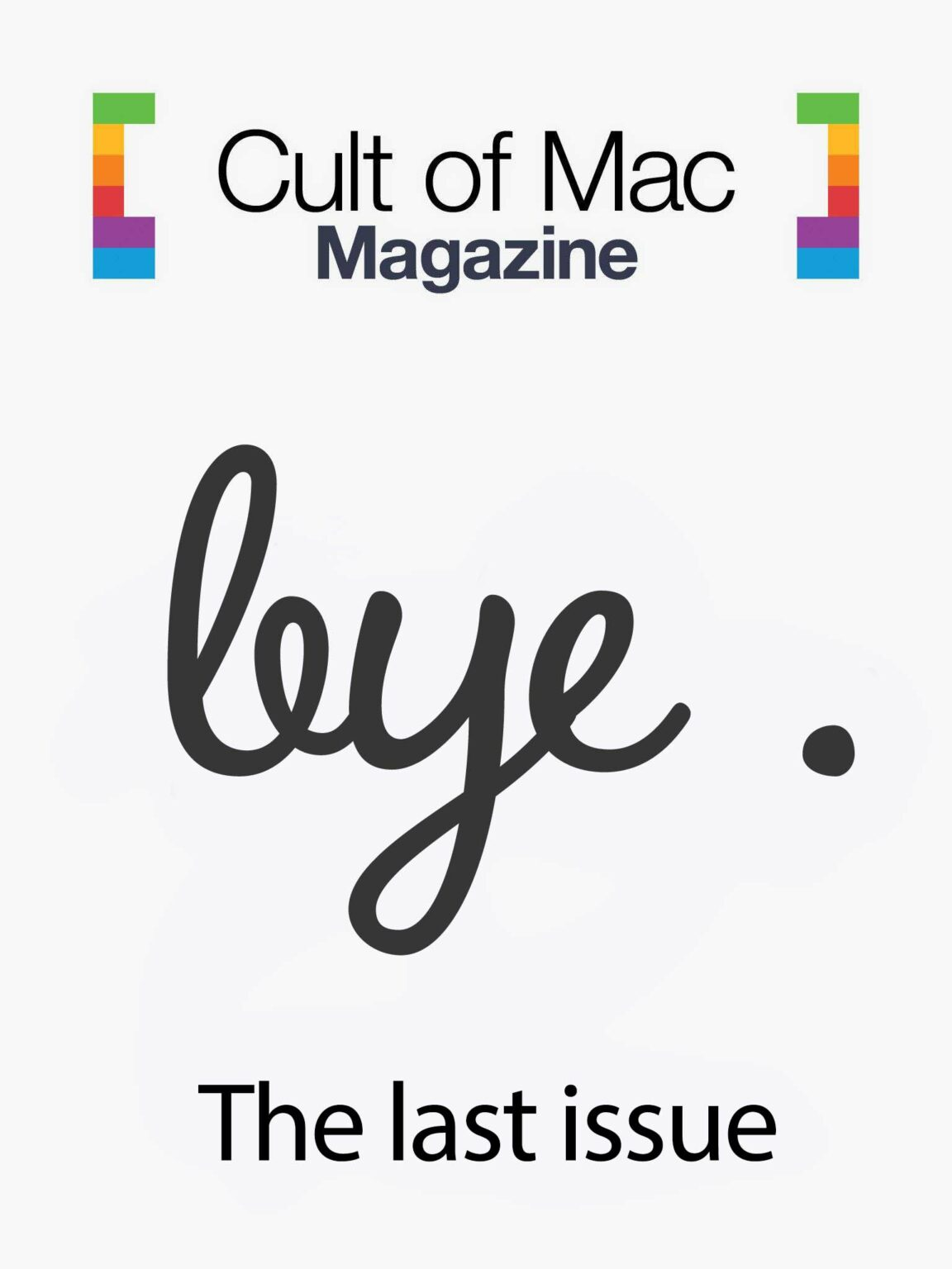 Cult of Mac magazine last issue cover