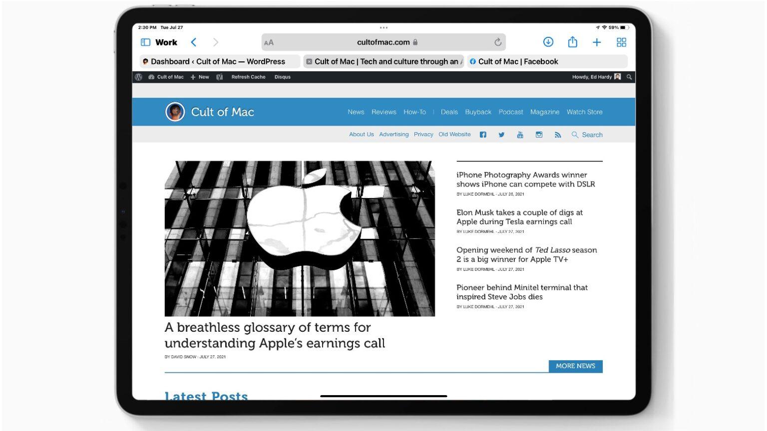 Latest iPadOS 15 beta makes big changes in Safari