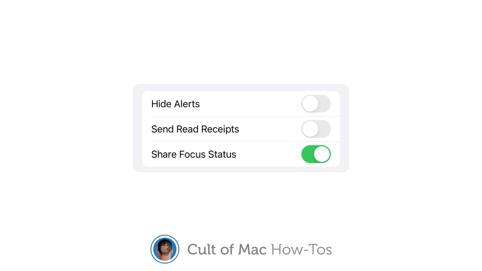 How to share Focus status