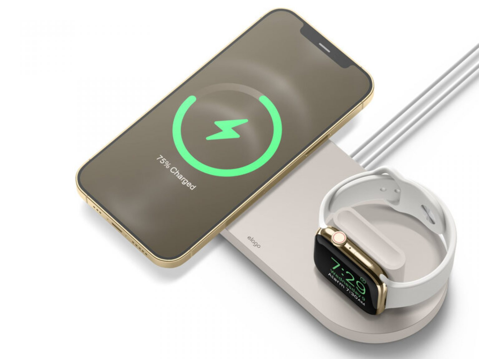 MS Charging Hub Duo for iPhone and Apple Watch