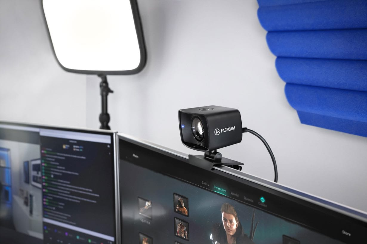 The new Elgato Facecam, at $199, competes with the big boys.