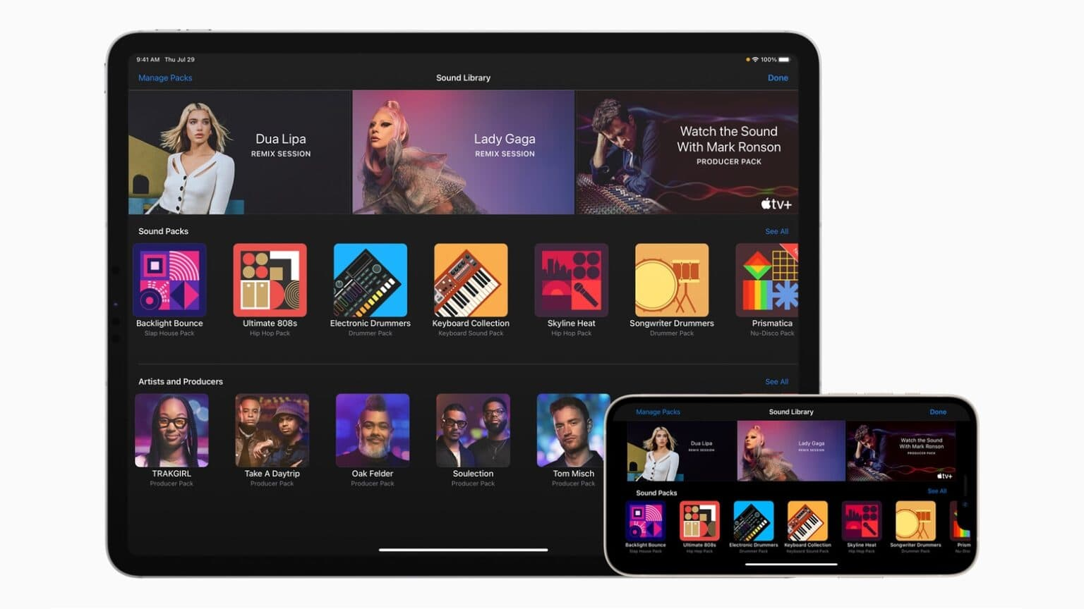 Apple's GarageBand teaches music remixing with Lady Gaga, Dua Lipa songs