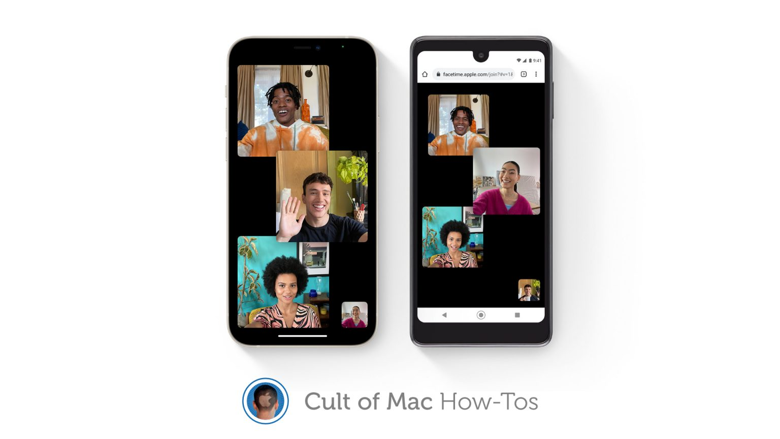 Invite Android and Windows users to FaceTime calls