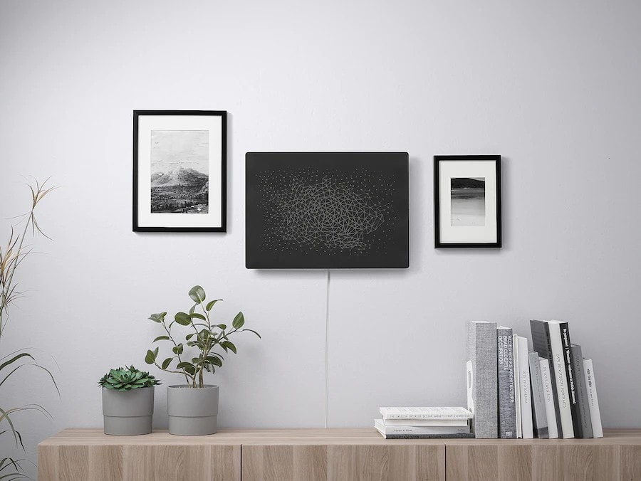 Ikea and Sonos cleverly disguised a Wi-Fi speaker in bland wall art.