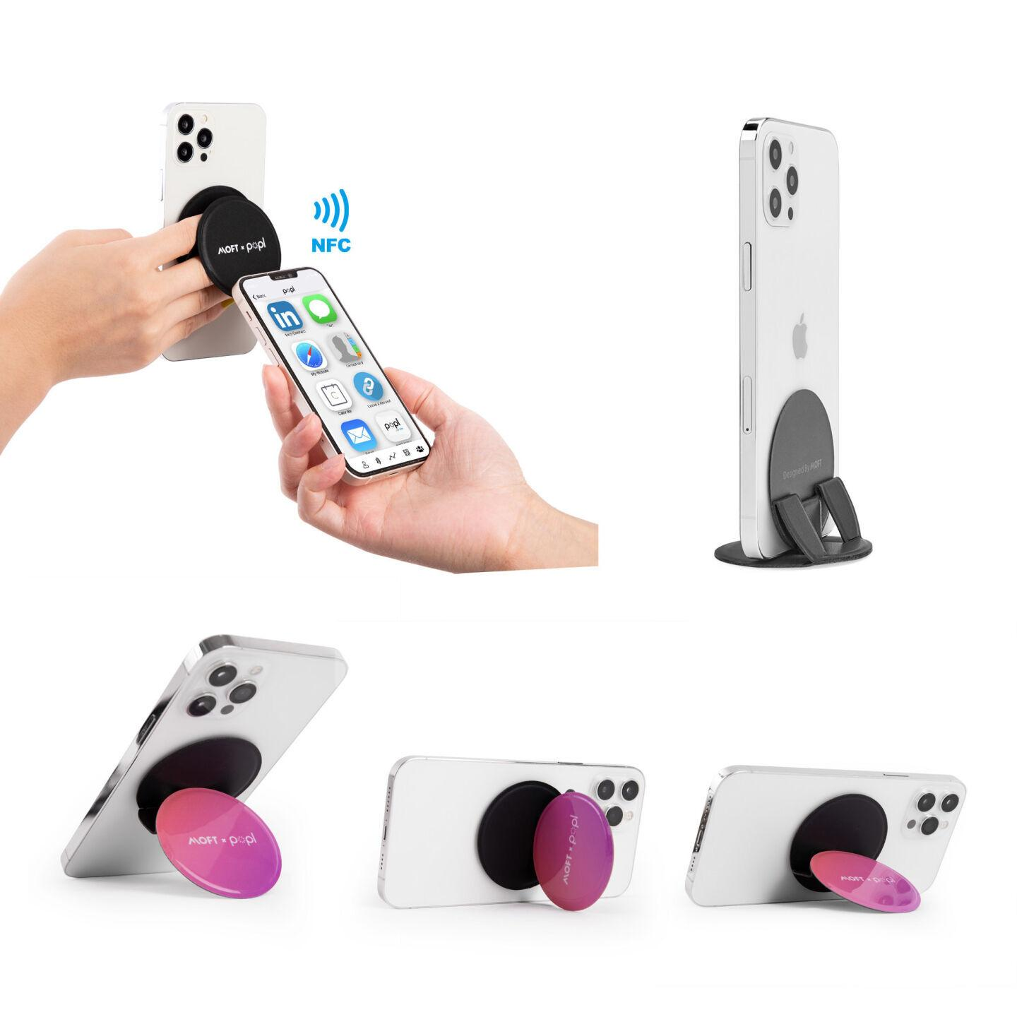 The MOFT x Popl is a convenient stand and communications device.