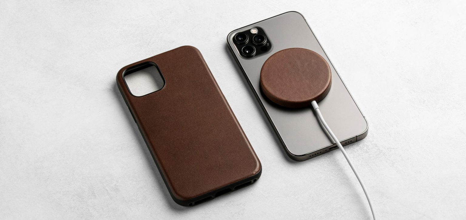 Nomad offers a new leather case for your Apple MagSafe Charger.