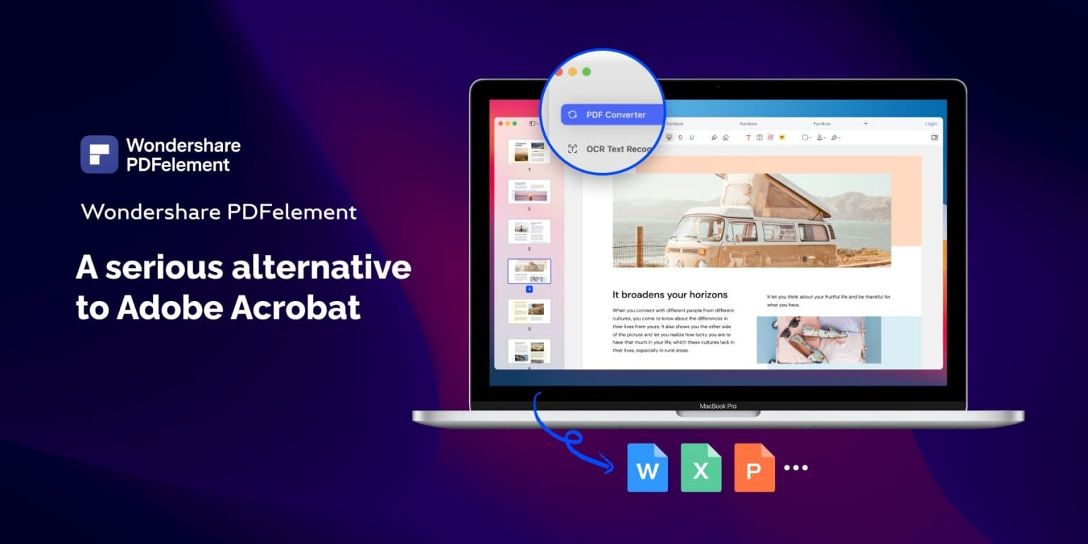Wondershare PDFelement 8.0 is a full-featured PDF editor.