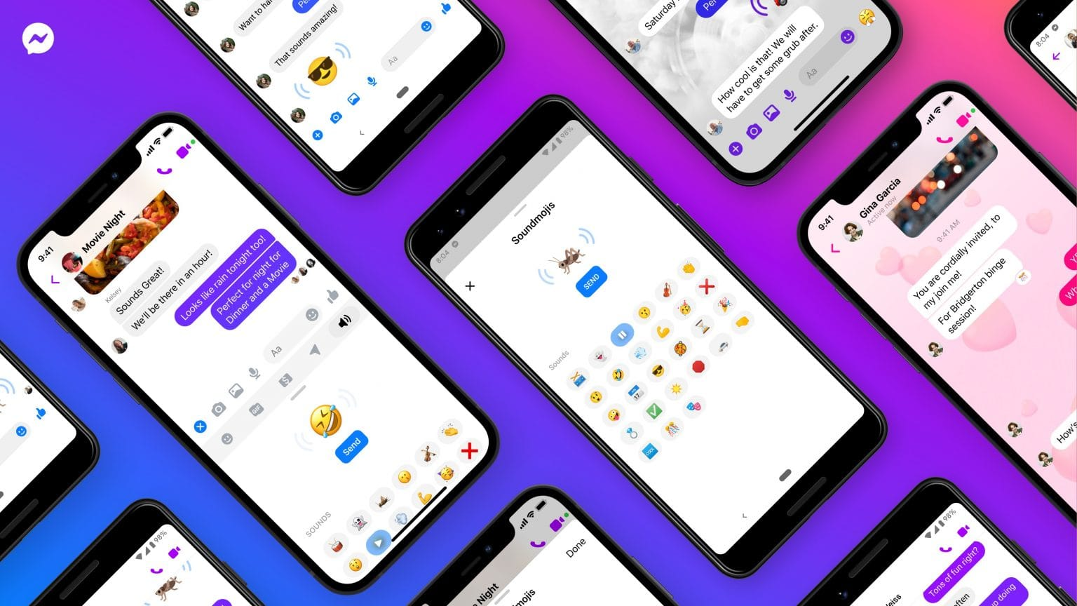 Amp up your emoji game with Soundmojis in Facebook Messenger.
