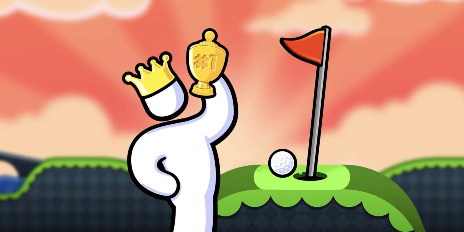 Super Stickman Golf 3+ is coming to Apple Arcade.