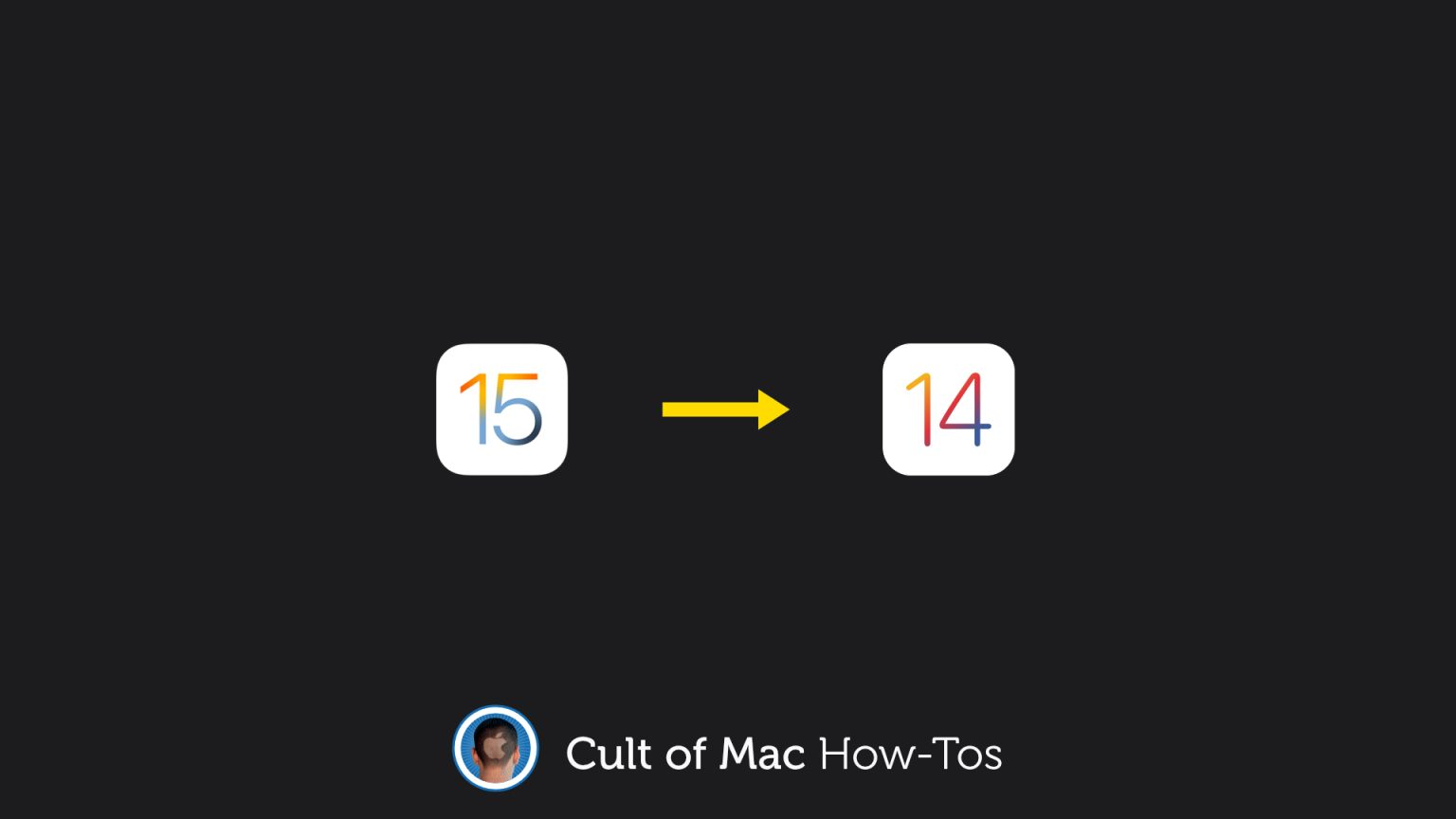 How to downgrade to iOS 14
