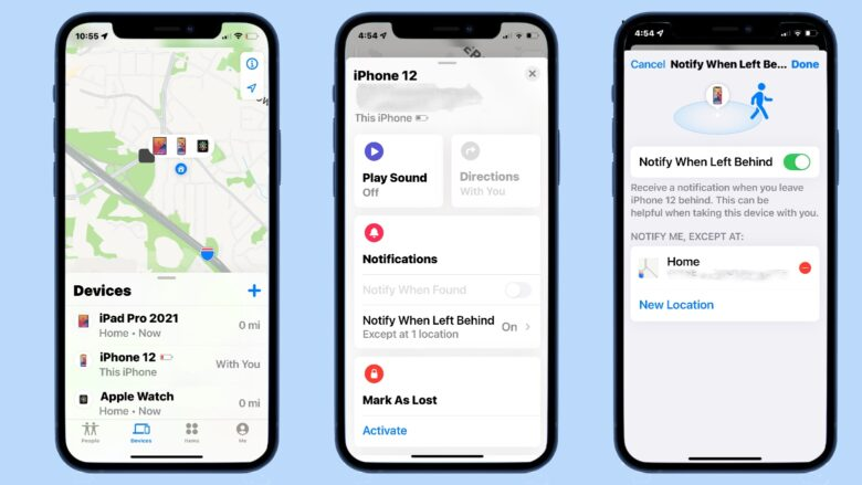 How to set up a separation alert warning on your iPhone