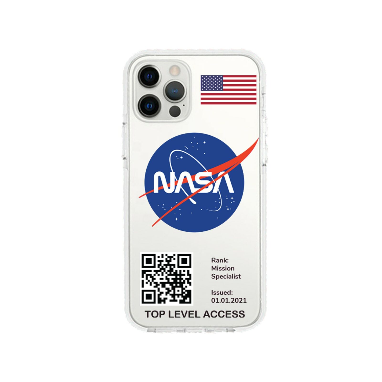 NASA Shockproof iPhone case