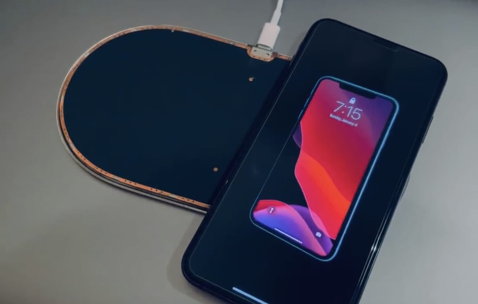 AirPower appears in first video