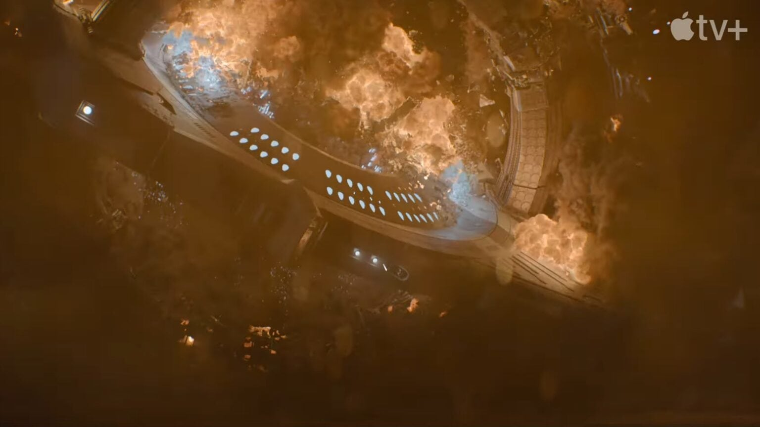 Explosion-packed Foundation trailer will get fans excited for Apple TV+ series