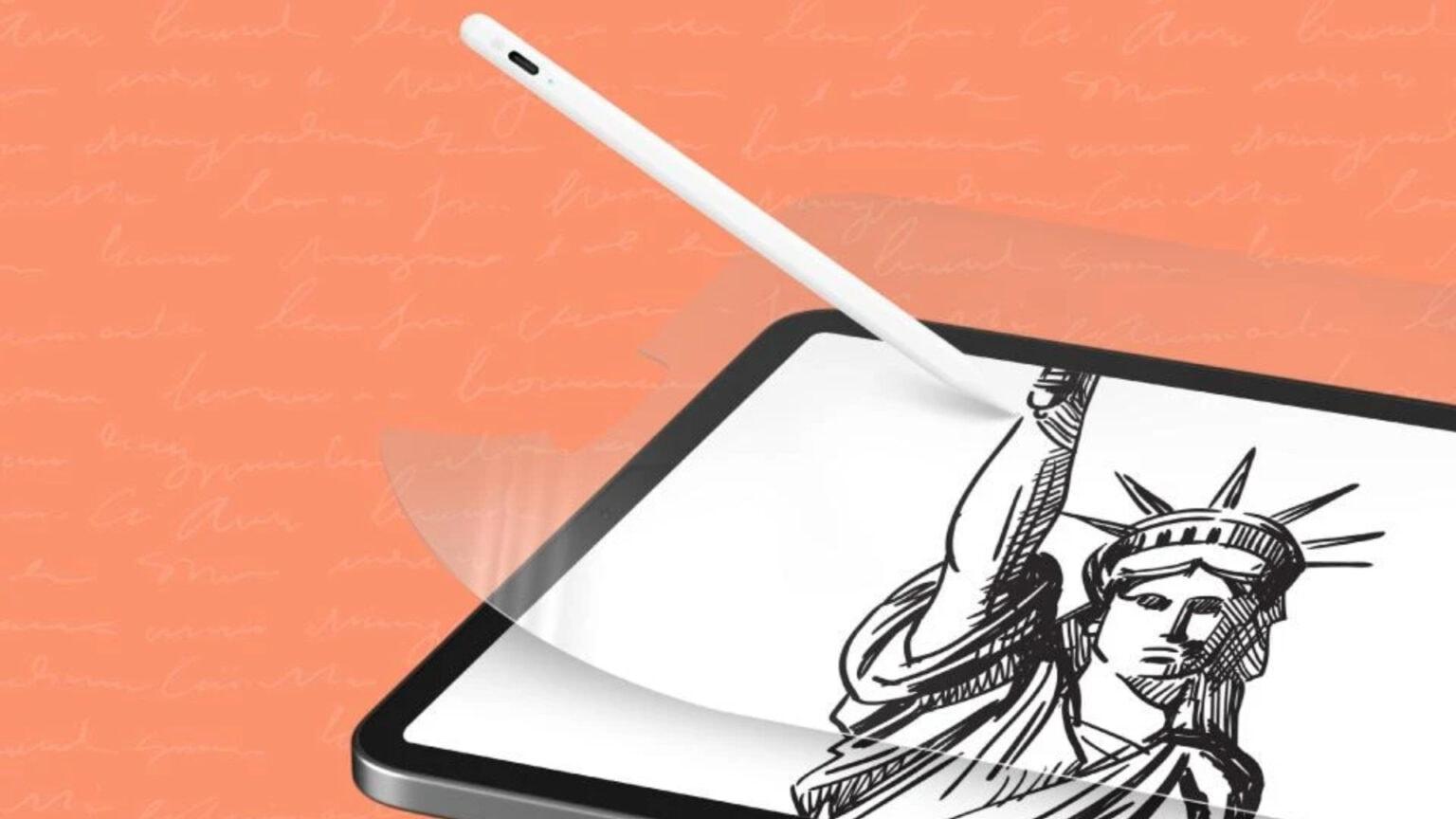 iPad paper screen protector