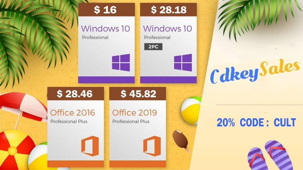 Get great deals from CdkeySales.com with code CULT.