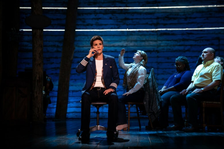Come From Away review: The musical utilizes minimalist sets to tell its story of hope.
