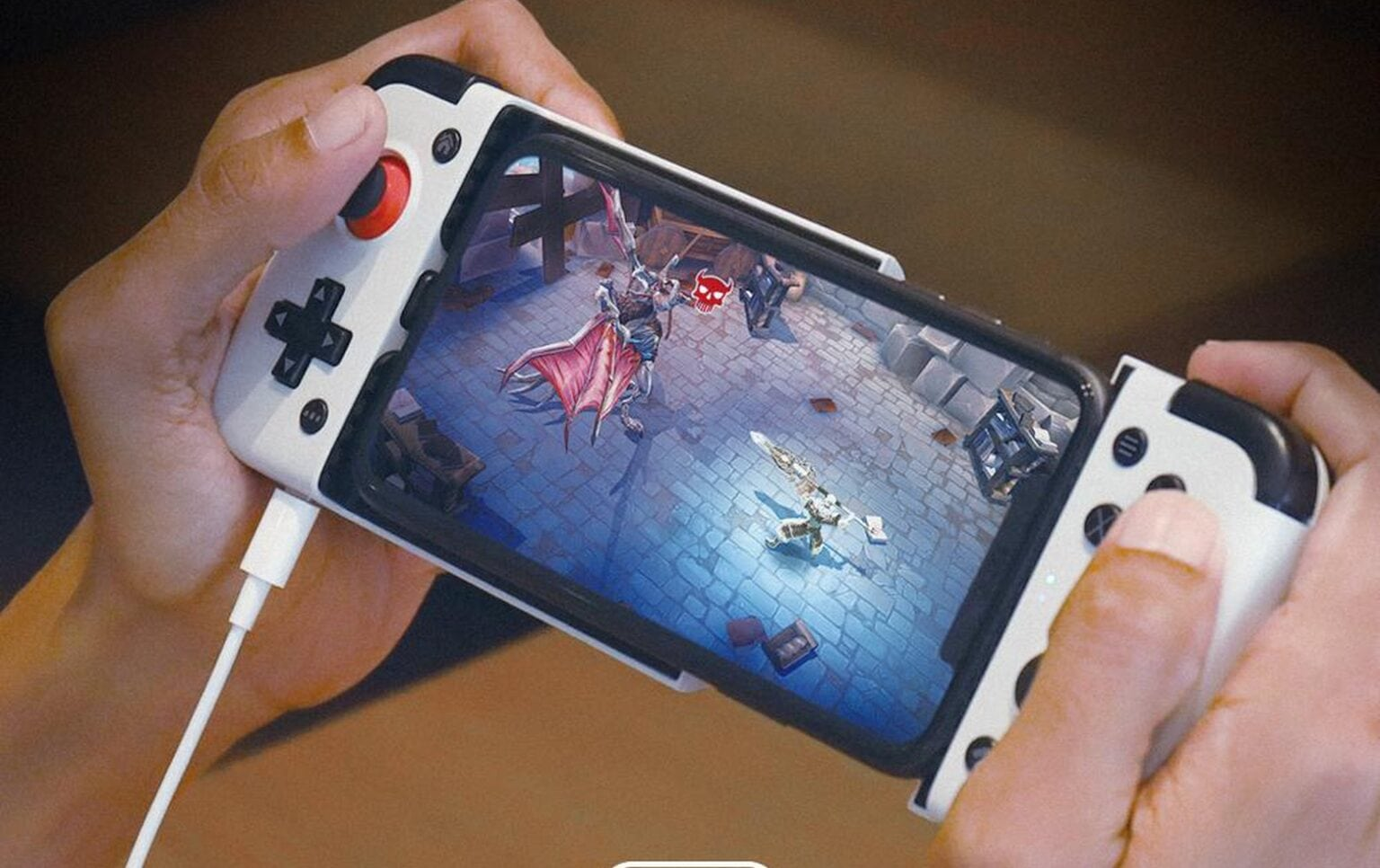 Make your iPhone more fun with GameSir X2 side-by-side game controller with Lightning