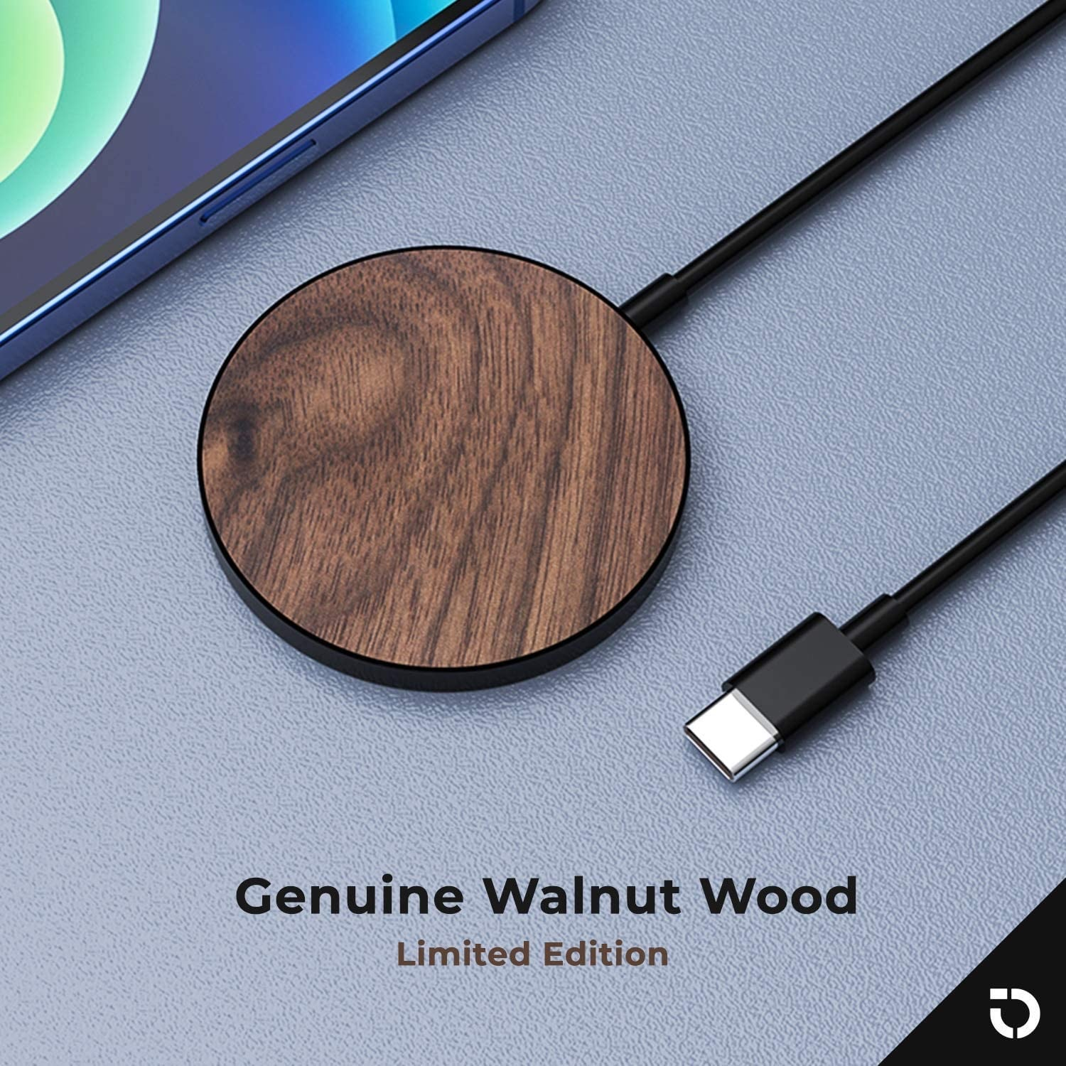 Magsafe Wood Magnetic Wireless Charger