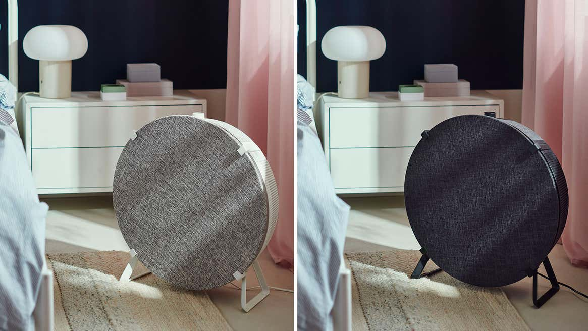 The non-table version of the smart air purifier may not fit into your decor as well.