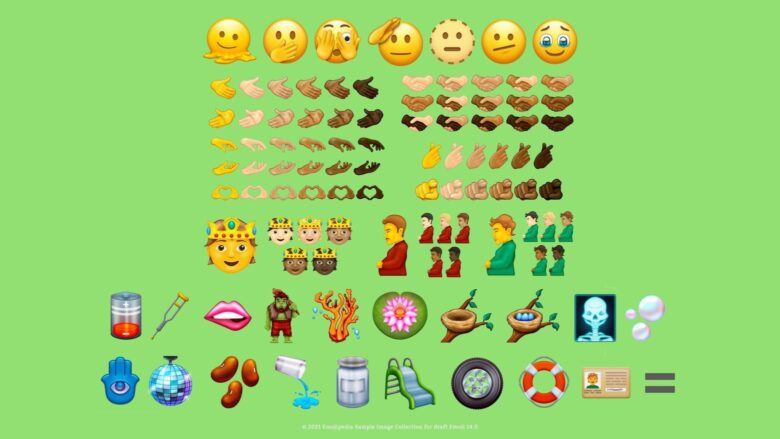 These are all the new emoji coming in 2022