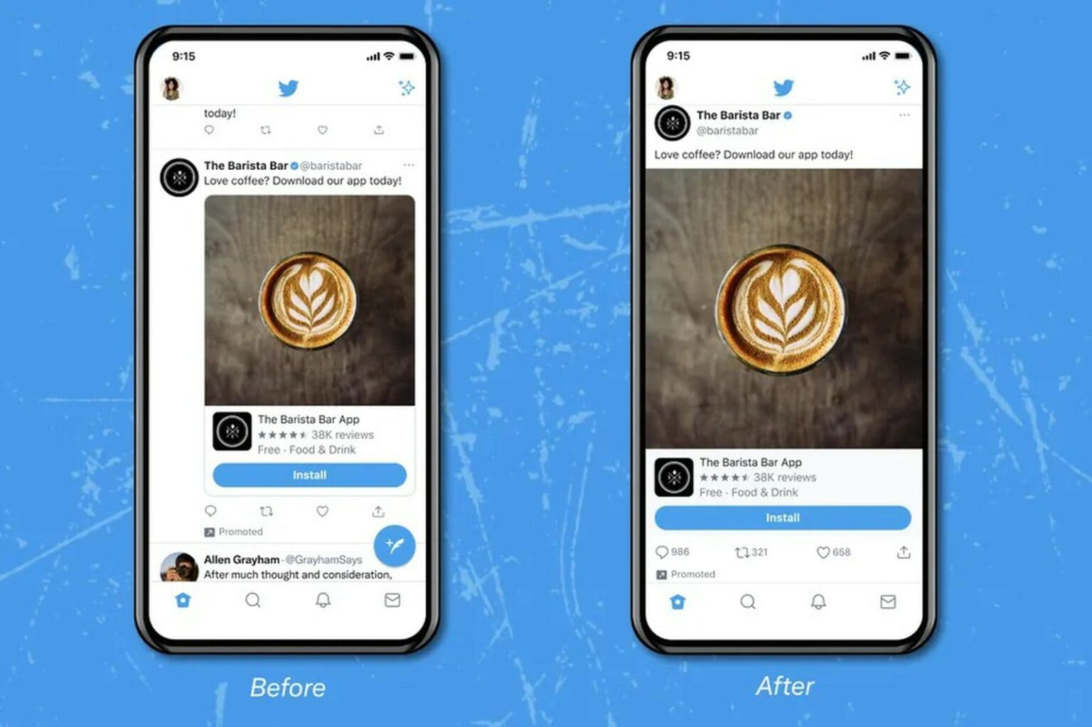 Twitter tests new interface on iOS