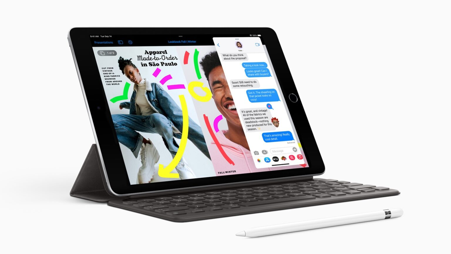 New budget iPad 9 gets better video chat, doubles storage