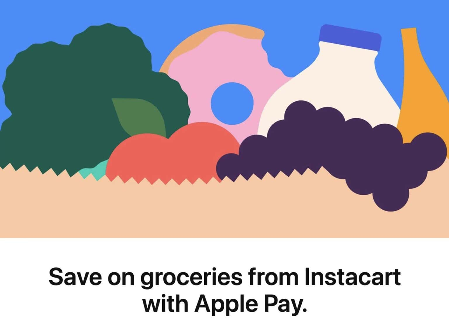 Apple Pay gets Instacart discount