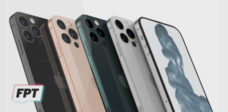 Some of the iPhone color options that could appear.