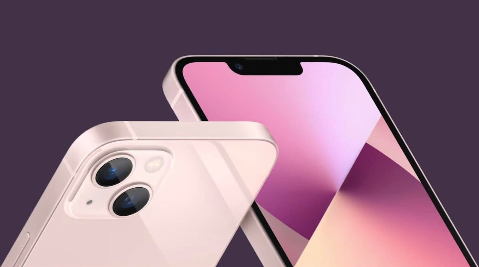 Faster iPhone 13 and iPhone 13 mini shrink the notch, add battery life