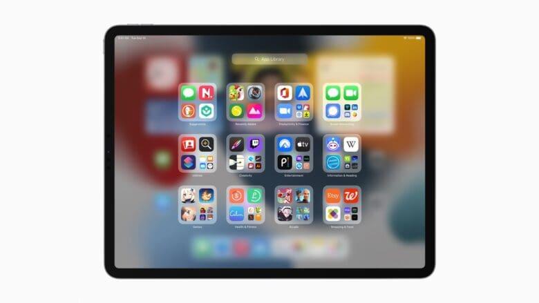 iPadOS 15 updates the Home screen
