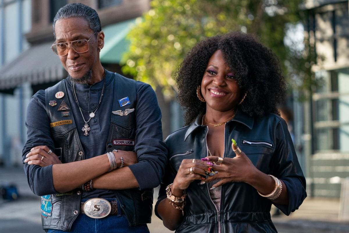 Ron Cephas Jones & Haneefah Wood in Truth Be Told